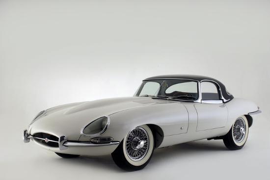 Jaguar E type 1961-Simon Clay-Photographic Print