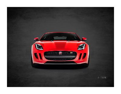 Jaguar F-Type Front-Mark Rogan-Giclee Print