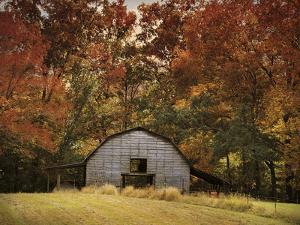 Autumn Barn by Jai Johnson