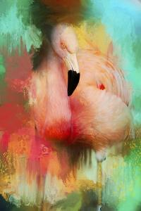 Colorful Expressions Flamingo by Jai Johnson