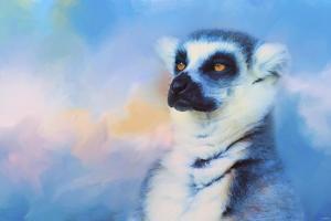 Colorful Expressions Lemur by Jai Johnson