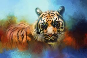 Colorful Expressions Tiger 2 by Jai Johnson