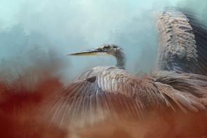 Emerging Heron by Jai Johnson