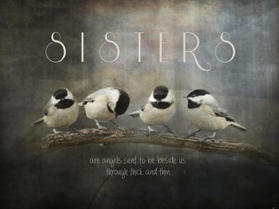 Sisters Chickadees