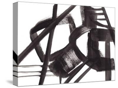 Black and White Abstract Painting 3