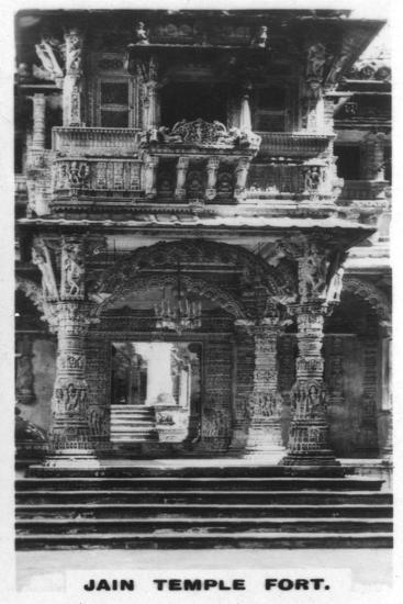 Jain Temple Fort, Ahmedabad, India, C1925--Giclee Print