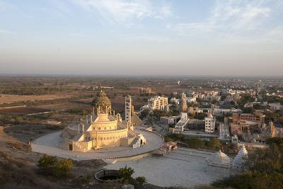 Jain Temple, Newly Constructed, at the Foot of Shatrunjaya Hill-Annie Owen-Photographic Print