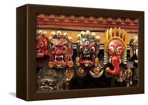 Folk Art of Nepal, Paper Mache Masks by Jaina Mishra