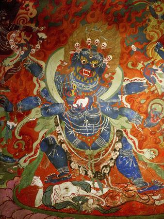 Thikese Monastery, Interior, Ladakh, India