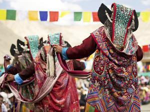 Traditional Dances, Ladakh, India by Jaina Mishra