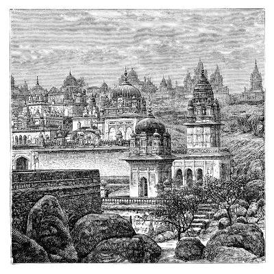 Jaina Temples, Junagadh, Gujarat, India, 1895--Giclee Print