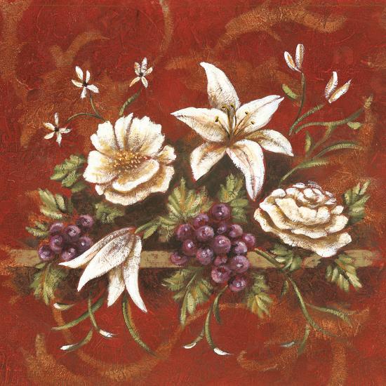 Jaipur Blossoms I-Fiona Demarco-Art Print