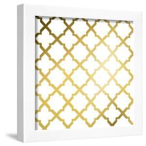 Gold Lattice I (gold foil) by Jairo Rodriguez