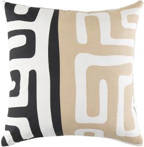 Jakarta 18 x 18 Pillow Cover - Beige