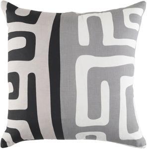 Jakarta 18 x 18 Pillow Cover - Gray