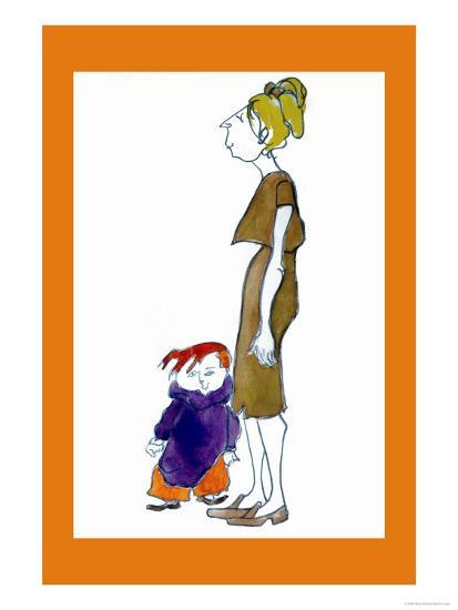Jake and Mom-Norma Kramer-Art Print