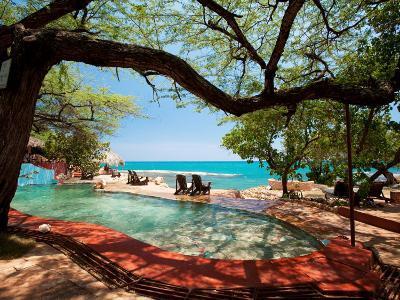 Jake's Resort, Treasure Beach-Greg Johnston-Photographic Print