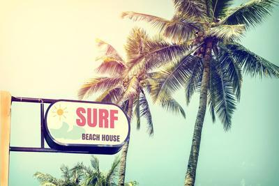 Sign of Surf Beach House