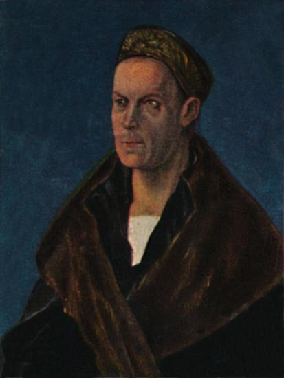 'Jakob Fugger 1459-1525. - Gemälde von Dürer', 1934-Unknown-Giclee Print