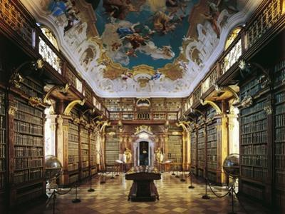 Melk Abbey, Library by Jakob Prandtauer