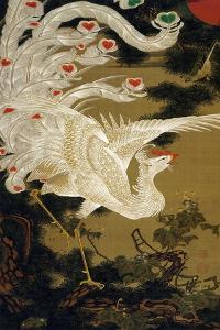 Phoenix on the Pine by Jakuchu Ito