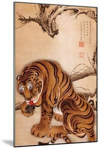 Tiger by Jakuchu Ito