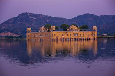 Jal Mahal Floating Lake Palace, Jaipur, Rajasthan, India, Asia-Laura Grier-Photographic Print