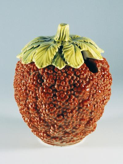 Jam Container in Shape of Raspberry--Giclee Print