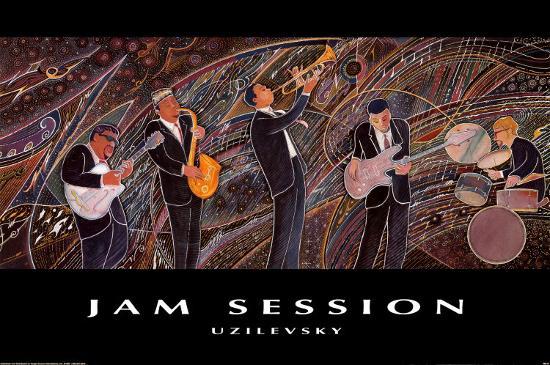 Jam Session-Marcus Uzilevsky-Art Print