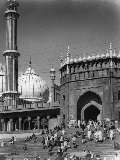 Jama Masjid, Delhi, India, Late 19th or Early 20th Century--Giclee Print