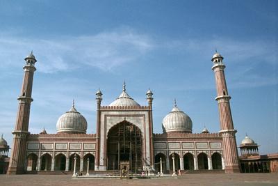 Jama Masjid, Delhi, India-Vivienne Sharp-Photographic Print