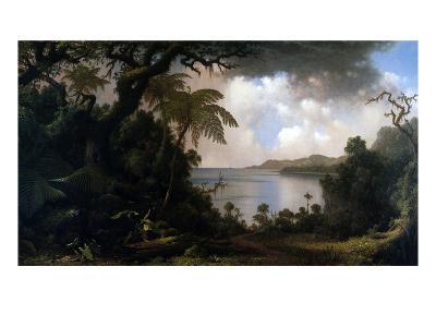 Jamaica, View from Fern-Tree Walk, 1887-Martin Johnson Heade-Giclee Print