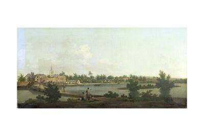 Jamaican Landscape, C.1775-George Robertson-Giclee Print