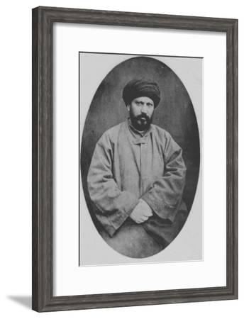 Jamal Ad-Din Al-Afghani--Framed Giclee Print