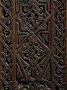 Jamb of Door from Casa Marturano, Detail, Fatimid Art, 12th Century