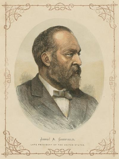 James a Garfield, 20th President of the United States--Giclee Print