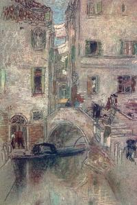 A Bye Canal, Venice, 19th Century by James Abbott McNeill Whistler