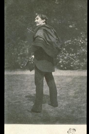 James Abbott McNeill Whistler, American-born British artist, late 19th century-Unknown-Photographic Print