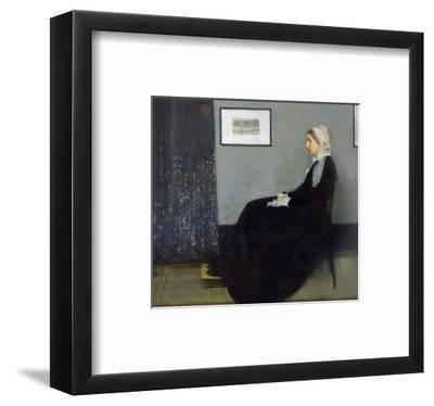 Arrangement in Grey and Black No.1: Portrait of the Artist's Mother, c.1871