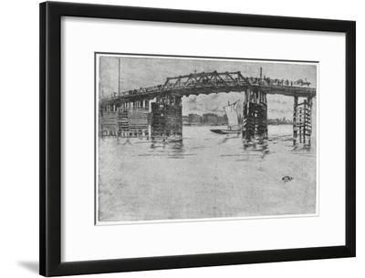 Battersea Bridge, London, 19th Century