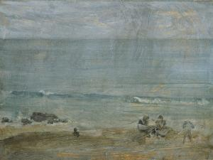 By the Shore, St. Ives. by James Abbott McNeill Whistler