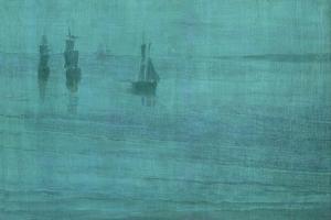 Nocturne, The Solent, 1866 by James Abbott McNeill Whistler