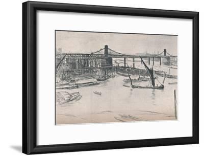 Old Hungerford Bridge, 1861, (1903)
