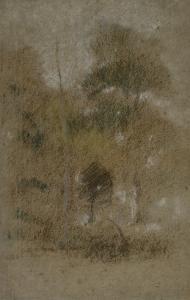 Paysage au feuillage by James Abbott McNeill Whistler