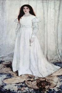 Symphony in White, No. 1: the White Gir by James Abbott McNeill Whistler