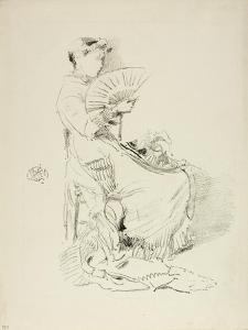 The Fan, 1879 by James Abbott McNeill Whistler