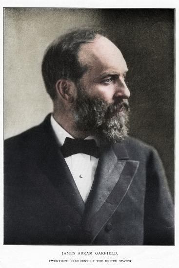 James Abram Garfield, 20th President of the United States, c1881-Unknown-Photographic Print