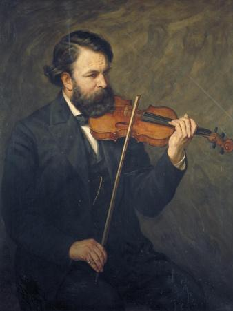 Doctor Joseph Joachim, 1876