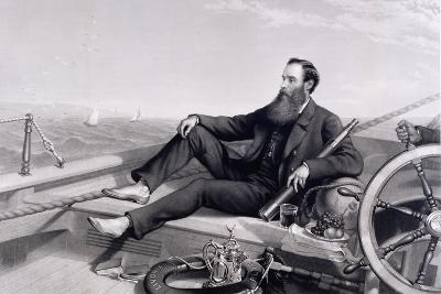 James Ashbury Aboard His Yacht Livonia-Charles Mercier-Giclee Print