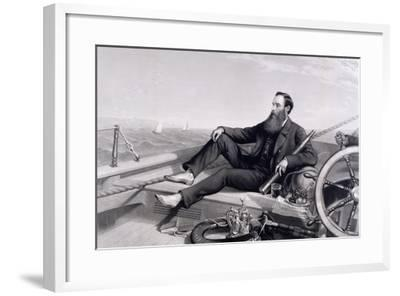 James Ashbury Aboard His Yacht Livonia-Charles Mercier-Framed Giclee Print